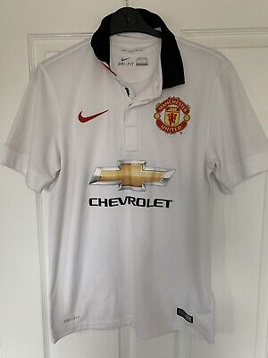 2014/2015 Manchester United away football shirt Nike small men's Chevrolet MUFC