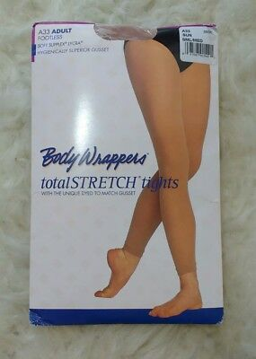 c3b40aa61b576 Body Wrappers A33 Women's Size SUN Footless Tights SMALL MEDIUM NEW IN  PACKAGE