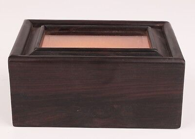 Vintage Chinese Wood Jewelry Boxes Decorate Sealed Old Collection Gifts