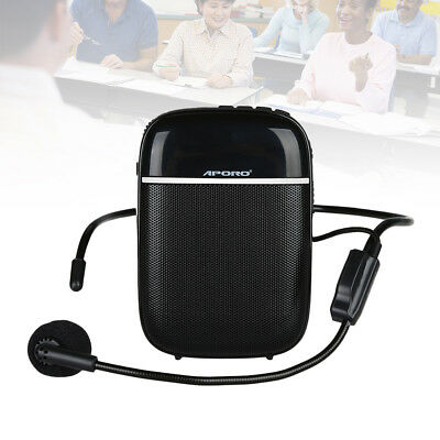 T3 Bluetooth 10W Waistband Voice Amplifier Booster + Microphone For Loudspeaker
