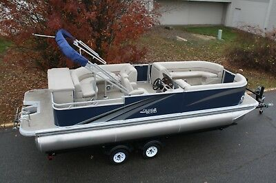 New 2485 Tahoe/Grand Island  Tmltz Cruise pontoon boat with 90 and trailer