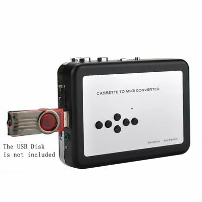 Tape To PC USB Cassette-To-MP3 Converter Capture Player Record Save To USB Disk
