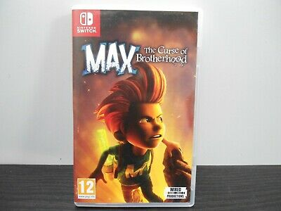 Switch : Max the curse of brotherhood - PAL boite FR.