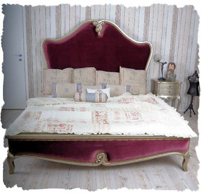 Double Bed Baroque Bed Double Bed Louis XV Gigantic Castle Ambient