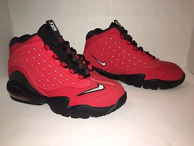 release date 72bd7 31754 NIKE Air GRIFFEY Max 2 II Boys SIZE 3Y Reds BLACK White Red GENTLY Worn