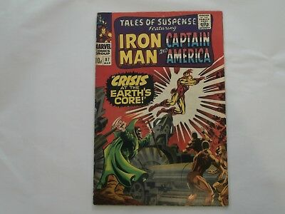 *AR* Silver Age Tales of Suspense #87 Mar 1967 Iron Man! Captain America! Fn