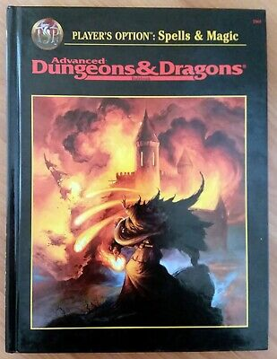 VINTAGE DUNGEONS & Dragons Player's Options Spells & Magic