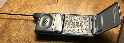 Motorola Micro Tac Ultra Lite T-A-C Cell Phone Cellular One F09HRD8383AG