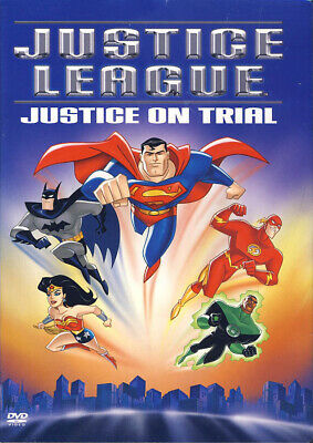 Justice League - justice on Trial New DVD