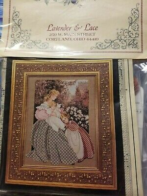 "+ ANGELS /""LAVENDER /& LACE/"" CROSS STITCH KITS YOU CHOOSE"