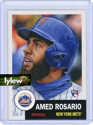 2018 Topps Living Set * AMED ROSARIO (RC) * Rookie Card #23 * New York Mets