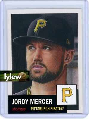 2018 Topps Living Set * JORDY MERCER * Card #36 * Pittsburgh Pirates