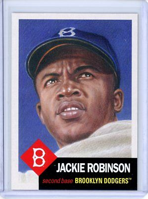 2018 Topps Living Set * JACKIE ROBINSON * Card #42 * Brooklyn Dodgers