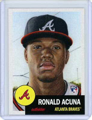 2018 Topps Living Set * RONALD ACUNA (RC) * Rookie Card #19 * Atlanta Braves ROY