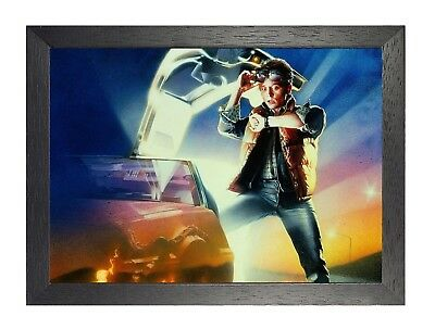 2 Back To The Future Movie Poster Print Retro Vintage Film Picture Boy TV Star