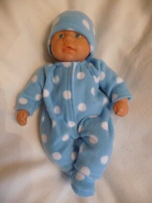 Baby dolls clothes hand made to fit My first baby Annabell brother sleeping eyes