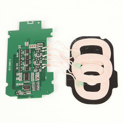 UNIVERSAL 3 COILS Qi Wireless Charger Transmitter Module