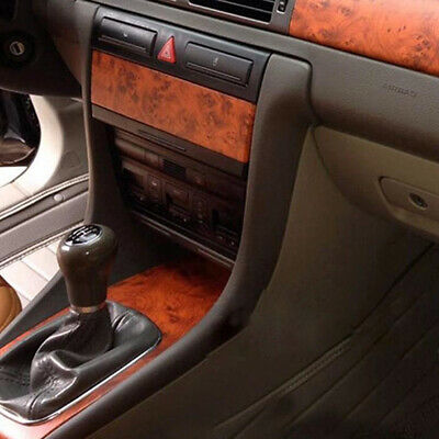 Birds Eye Wood Grain Textured Vinyl Wrap Sticker Decal Film Sheet Car Table Home