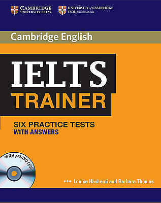Cambridge English IELTS TRAINER Six Practice Tests with Answers & 3 CDs      NEW