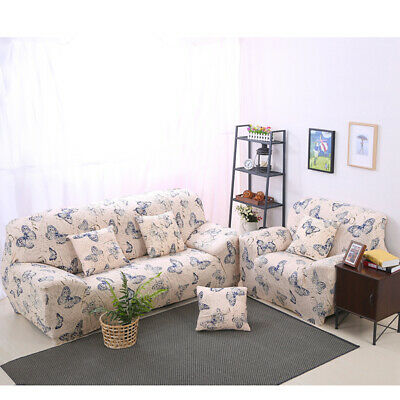Stretch Elastic Fabric Sofa Cover Slipcover Couch Cover Sectional Corner L Shape