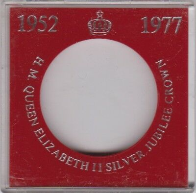 Silver Jubilee Crown 1977 Sandhill Coin Case