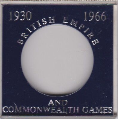 British Empire and Commonwealth Games  Crown Sandhill Coin Case