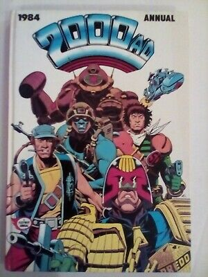 2000 AD Annual 1984 - Fleetway - VERY FINE CONDITION - FIRST PRINTING