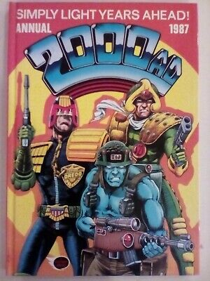 2000 AD Annual 1987 - Fleetway - VERY FINE CONDITION - FIRST PRINTING