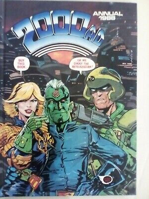 2000 AD Annual 1988 - Fleetway - VERY FINE CONDITION - FIRST PRINTING