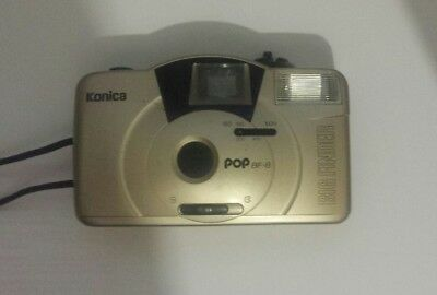 Konica Pop BF-8 Big Finder Point and Shoot Compact 35mm Film Camera