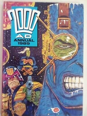 2000 AD Annual 1989 - Fleetway - VERY FINE CONDITION - FIRST PRINTING