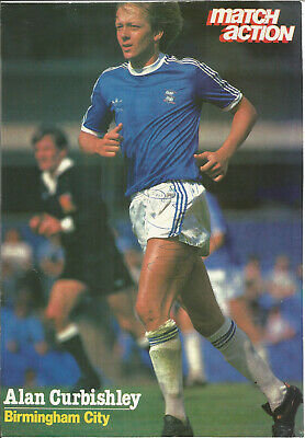 Football Autograph Alan Curbishley Birmingham FC Signed Magazine Picture F761