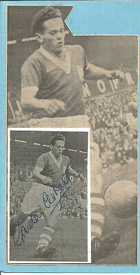 Football Autograph Gordon Astall Birmingham City FC Signed Picture F764
