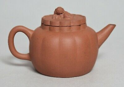 An Excellent Antique Chinese Yixing Pottery Teapot, Signed