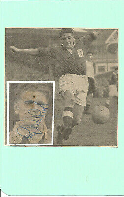 Football Autograph Roy Warhurst Birmingham City FC Signed Picture F772