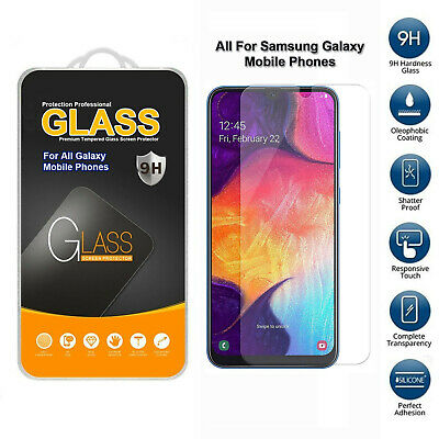 Tempered Glass Screen Protector For Samsung Galaxy Various Models