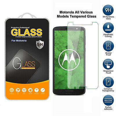 Tempered Glass Mobile Phone Screen Protector For Motorola In All Various Models