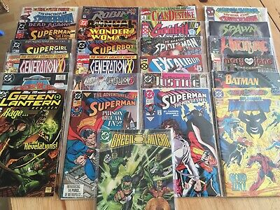 Job lot 25 mixed comics. No duplicates.