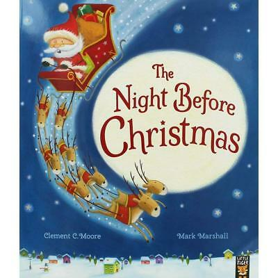 The Night Before Christmas By Clement C. Moore NEW (Paperback) Childrens Book