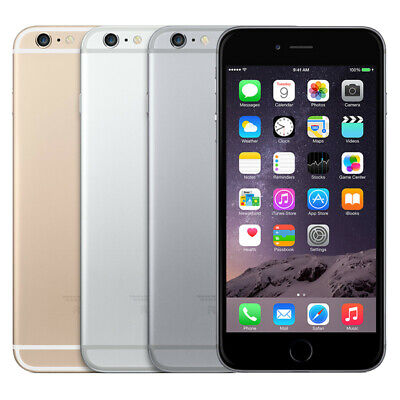 Apple iPhone 6 - 16GB - Silver/Gold/Space Gray - Fully Unlocked Smartphone