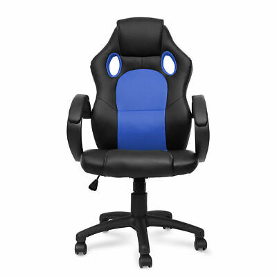 Gaming Chair High Back Office Chair Desk Chair Racing Chair Reclining Chair Blue