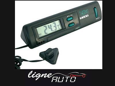 Thermometre digital luxe interieur / exterieur auto voiture camping car