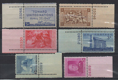 USA - Miscellaneous Selection - MNH Numbered