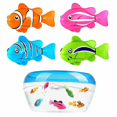 Swimming Robofish Activated Battery Powered Robot Fish Toys Funny Robotic Fish