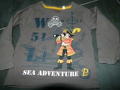 Tee-shirt longues manches Pat le Pirate 2 ans 92