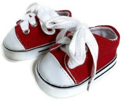 8f1c6f712940 Red Low Top Sneakers Tennis Shoes made for 18