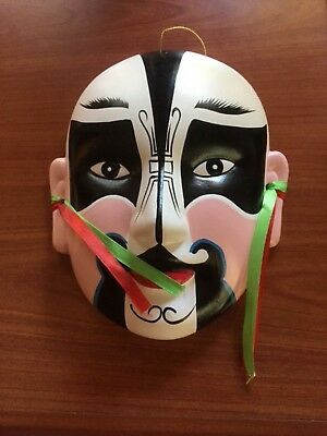 Chinese Ceramic Drama Mask..excellent condition