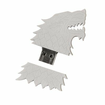 BFF Game of Thrones 5 Lot Set House Stark Sigil Direwolf USB Flash Drive HBO 4GB