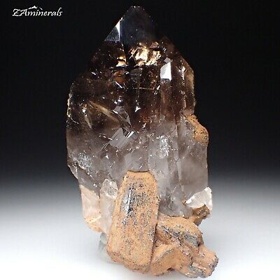 Smoky Quartz, Aegirine Mount Malosa Zomba District Malawi FD13