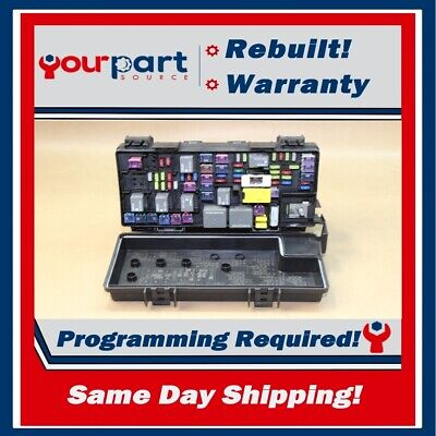 rebuilt 2011 journey caravan tipm temic integrated fuse box module  04692335ah